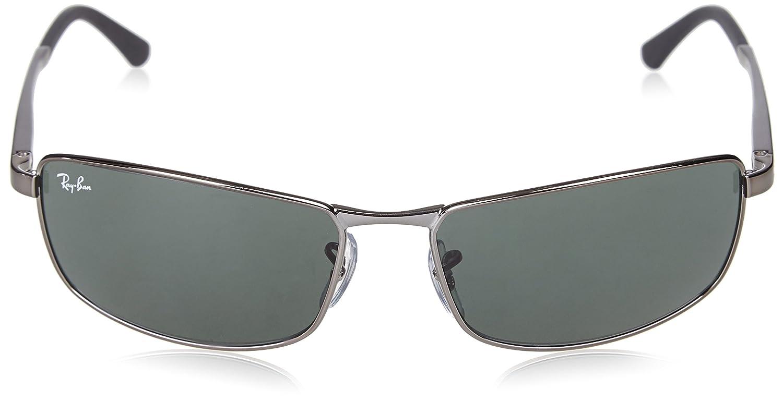 8bb3ef50c1c966 Amazon.com  Ray-Ban 0RB3498 Rectangular Sunglasses  Clothing