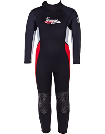 08405d9d99 Seavenger Scout 3mm Kids Full Body Wetsuit with Knee Pads for Surfing