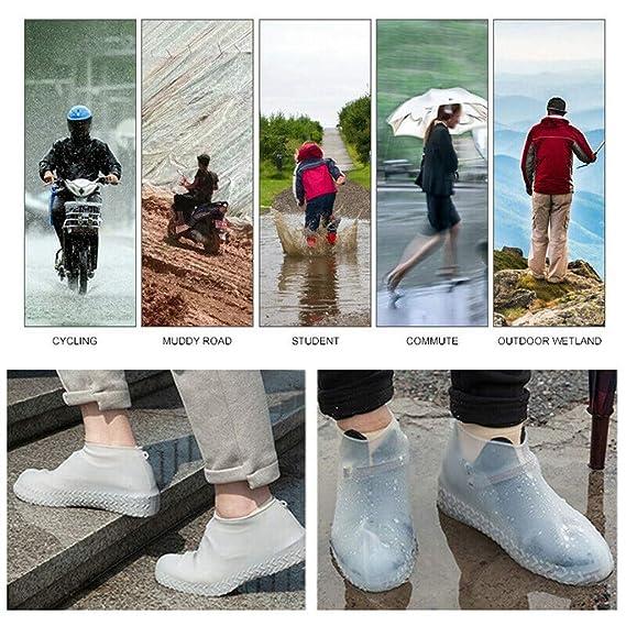 Mealeaf - Juego de 2 Fundas Reutilizables para Zapatos (Silicona ...