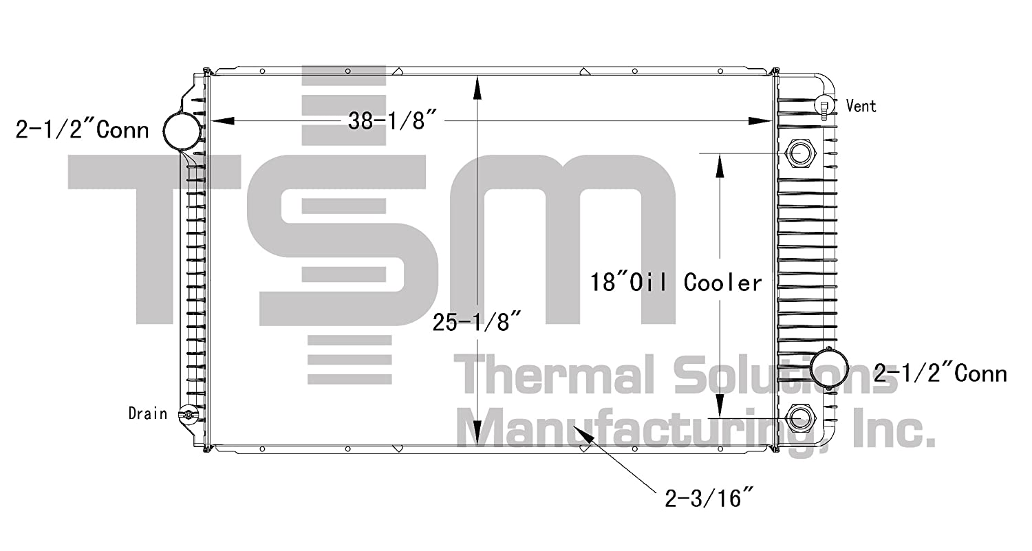 amazon com tsmusa plastic tank radiator for int\u0027l dt466 starter wiring diagram the toolbox the diesel and truck