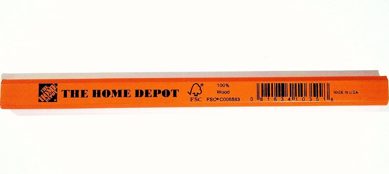 Amazon.com: Home Depot Marking Pencil with VersaSharp Sharpener, 10 ...