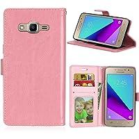 Funda Samsung Galaxy Grand Prime+ J2 Prime/G532F Prime Plus,Bookstyle 3 Card Slot PU Cuero Cartera para TPU Silicone…