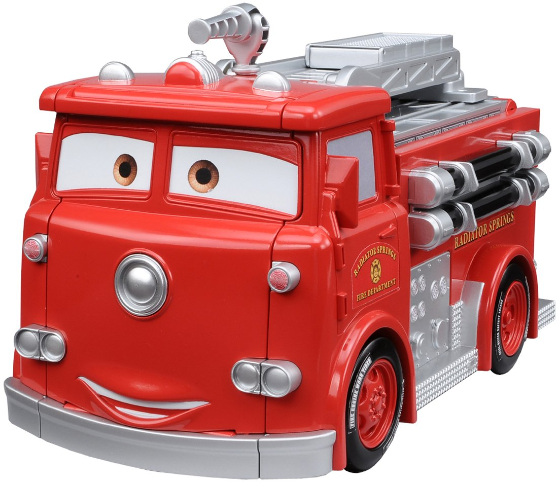 Tomica Cars Rescue Go Go Emergency makeover Red (japan import)