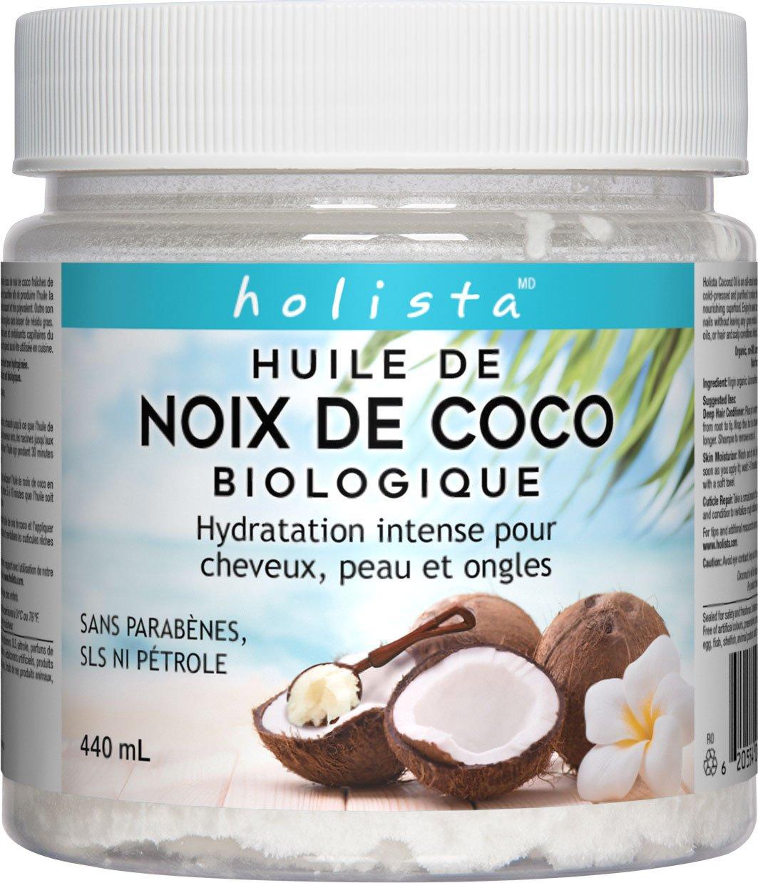 huile de noix coco holista
