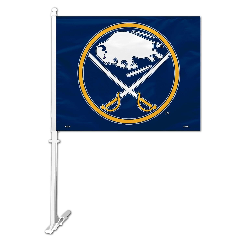 NHL Buffalo Sabres Car Flag Fremont Die 88909