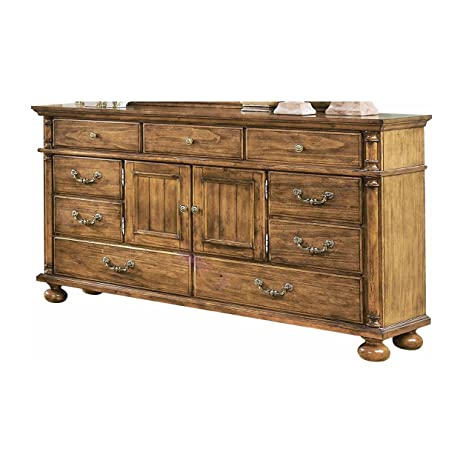 Colton Country Western Door Dresser in Antique Pine - Amazon.com: Colton Country Western Door Dresser In Antique Pine