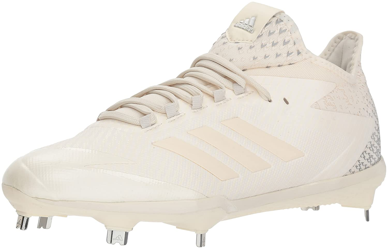 adidas Performance メンズ adizero Afterburner 4 B075QGB5CSChalk White, Chalk White, Silver Met. 13 D(M) US
