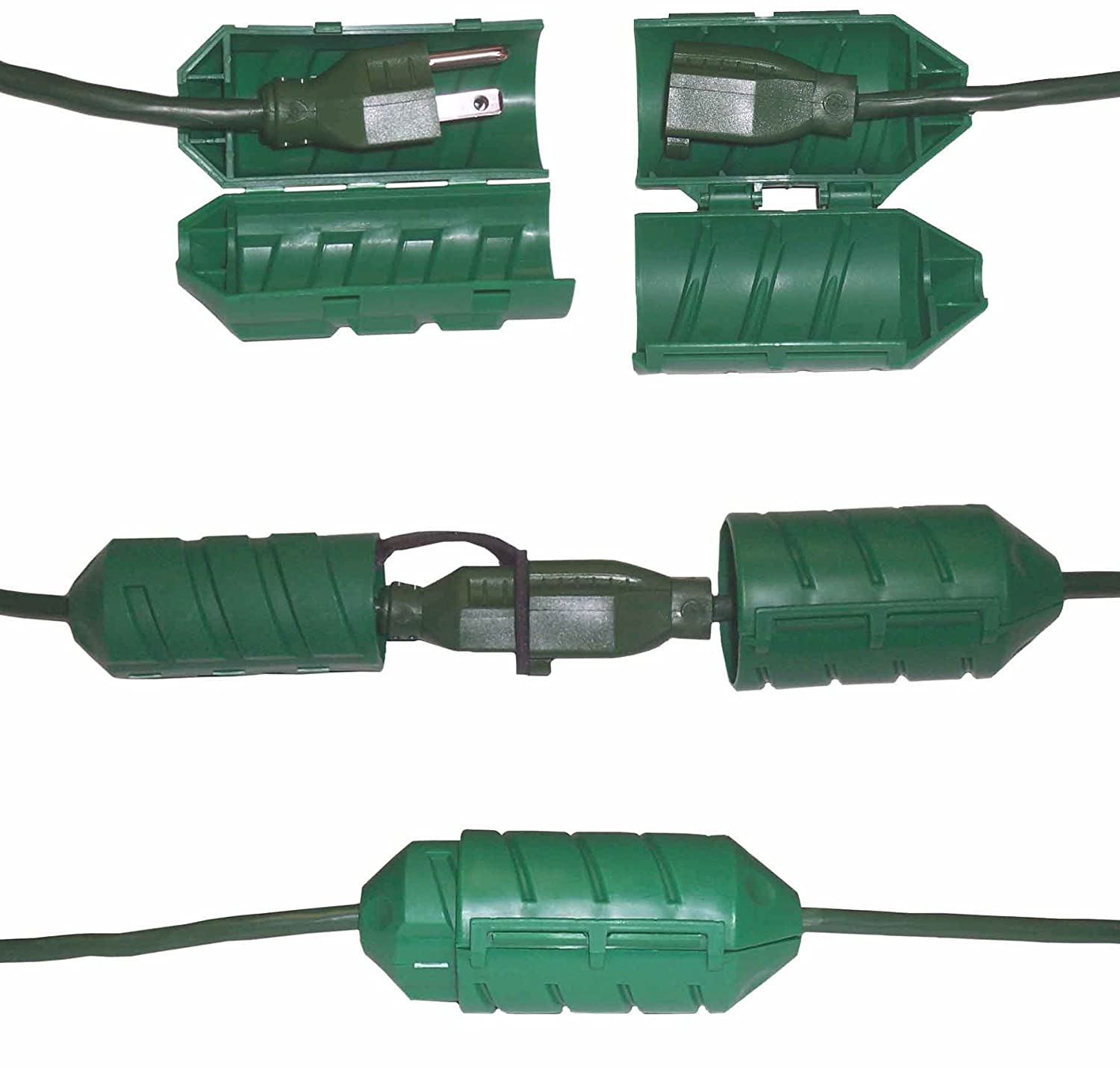 Amazon.com : Farm Innovators Model CC 2 Cord Connect Water Tight Cord Lock    Green : Extension Cords : Patio, Lawn U0026 Garden