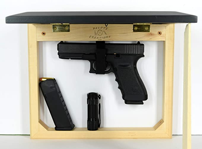 Amazon.com: Hidden gun storage case, concealment furniture cabinet ...
