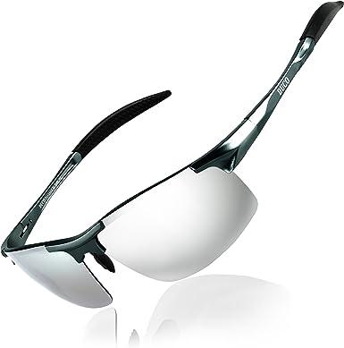 Duco Gafas de sol deportivas polarizadas para hombre con ...