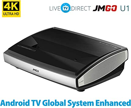 Amazon.com: Proyector 4K, Android TV mejorado JmGO U1 Home ...