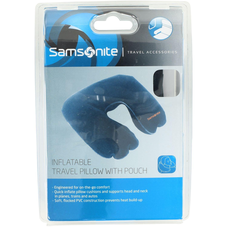 Ipod Pillow Samsonite Travel Pillow 27 Cm Indigo Blue 45578 1439 Amazonco