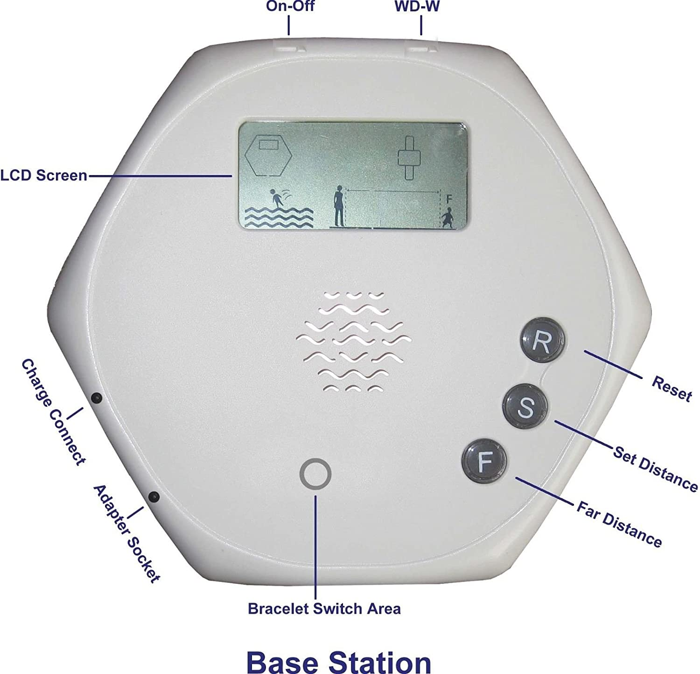 Sistema De Alarma Para Piscina Por Ninos Con 2 Pulseras ...