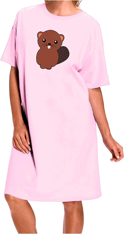 TooLoud Cute Beaver Muscle Shirt