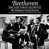 Beethoven: The Late String Quartets, Budapest String Quartet in Concert at The Library of Congress