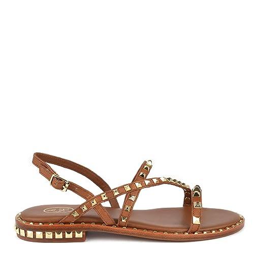 Footwear Sandalias PlanasDe Marron Ash Peace Cuero 6gYvfIb7y