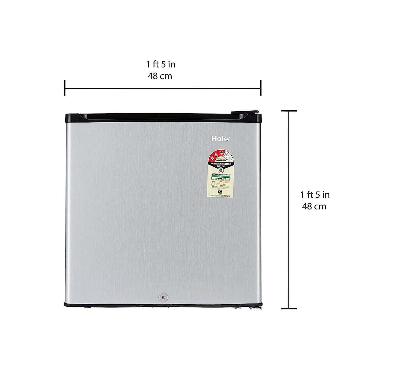 Haier 52 L 3 Star Direct Cool Single Door Refrigeratorhr 62vs Sub Zero Ice Maker Wiring Diagram Silver Home Kitchen