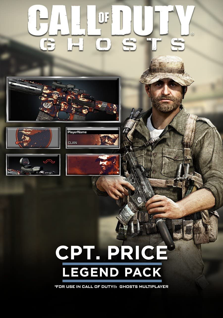 Amazon com: Call of Duty: Ghost - Legend Pack - CPT Price [Online