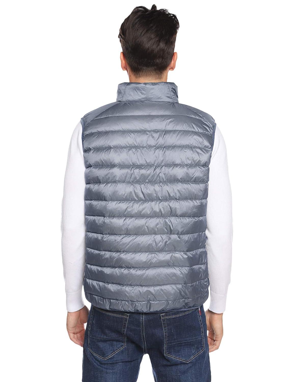Hawiton Gilet di Piumino Invernale da Uomo Peso Ultra Leggero Giubbotto Cappotto Senza Maniche per Autunno Inverno