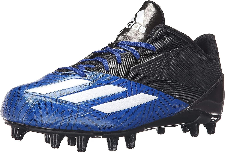 Adidas Herren 5-Star Freak X Carbon Mid Football-Schuhe Schwarz Weiß Collegiate Royal