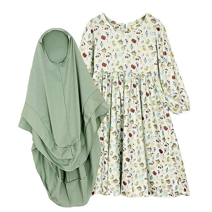 Amazon.com: Mysky - Vestido plisado tradicional para bebé ...