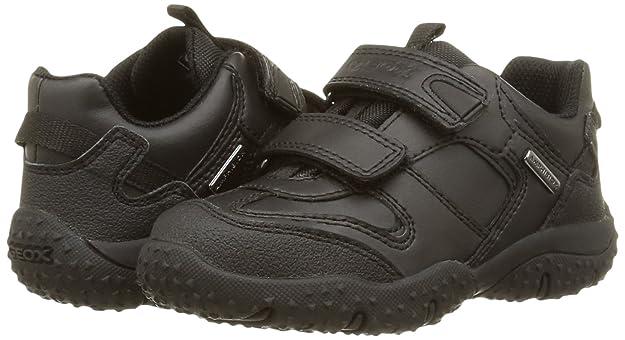 Amazon.com: Geox Junior Boy Báltico Escuela Zapatos, negro ...