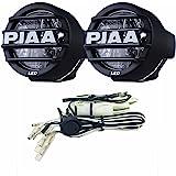 Piaa 5370 Black LED Fog Lamp Kit, white