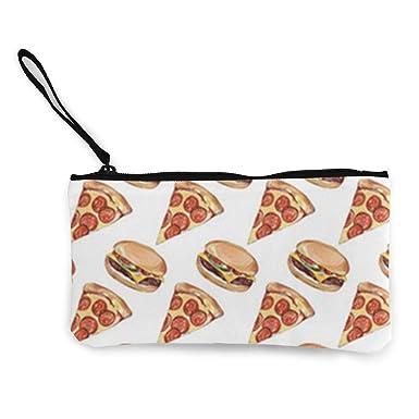 Amazon.com: Pizza N Hamburger Monedero de viaje maquillaje ...