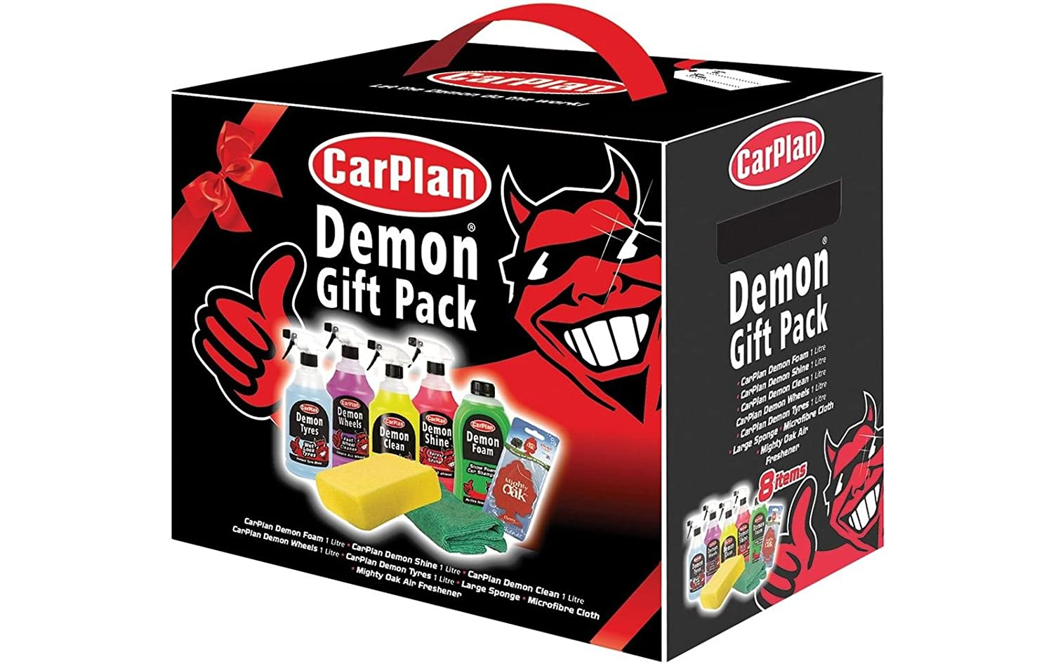 Carplan dgp001 demon gift pack 8 pieces car shampoo cleaner sponge carplan dgp001 demon gift pack 8 pieces car shampoo cleaner sponge air freshener amazon car motorbike negle Images