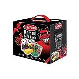 Carplan DGP001 Demon Gift Pack 8 Pieces Car Shampoo Cleaner Sponge Air Freshener