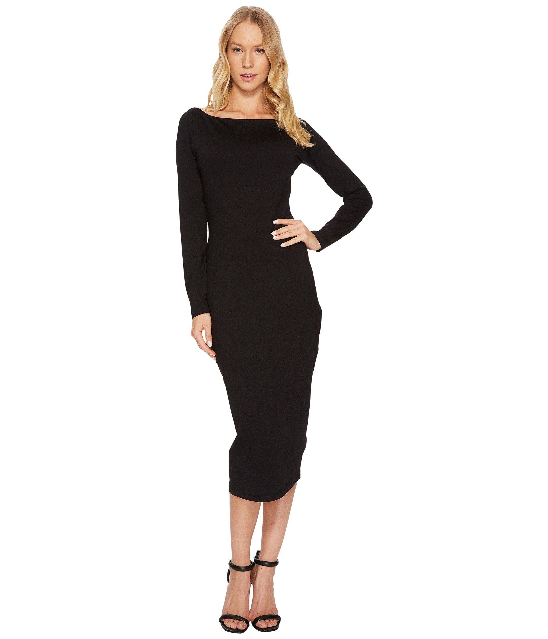 Susana Monaco Women's Cerise Strapless Asymmetrical Ruffle Hem Midi Dress, Black, Small