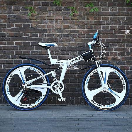 YEARLY Montaña Bicicleta Plegable, Adultos Bicicleta Plegable ...