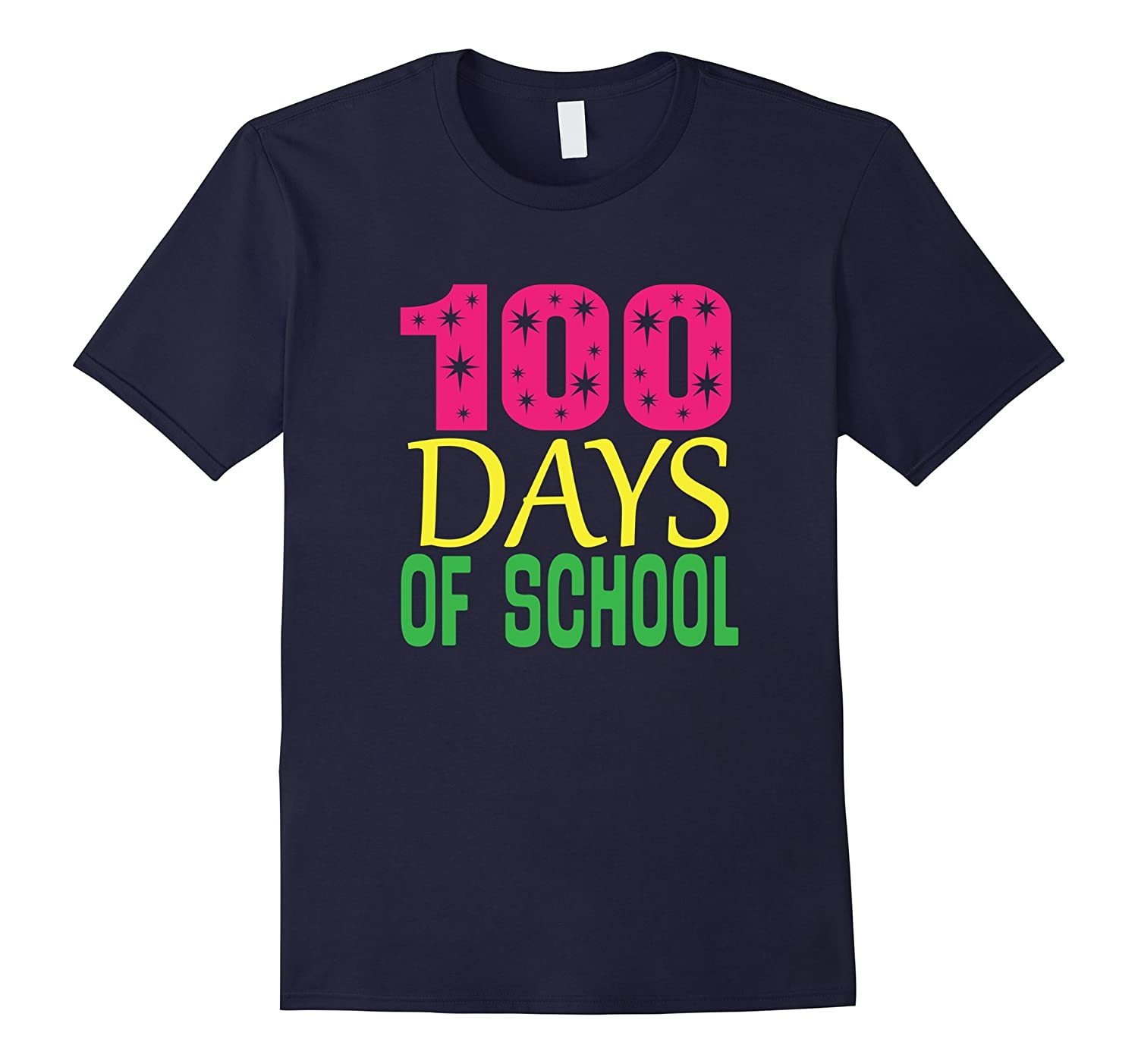 100 Days Of School Party T-shirt 100th Day Tee-Art