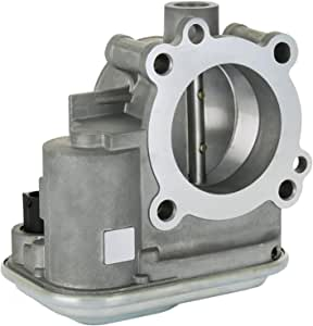 biosp 4891735AD Complete Electronic Throttle Body Assembly with IAC TPS fit for Jeep Cherokee Compass Patriot Dodge Avenger Caliber Journey 200 Sebring Replace # 04891735AC 4891735AC 4891735AB