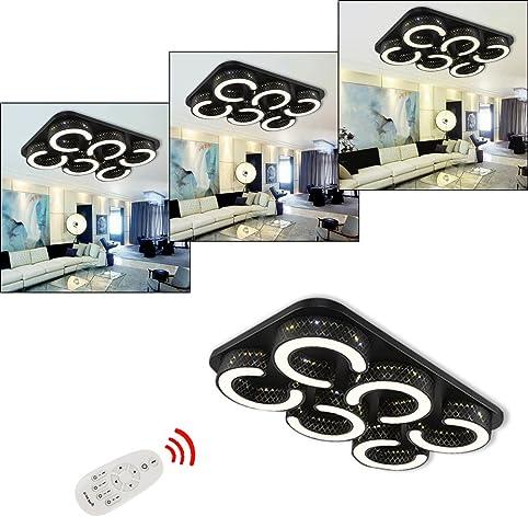 HG® 72W LED Deckenleuchte IP44 Badezimmer geeignet Leuchte Flur ...