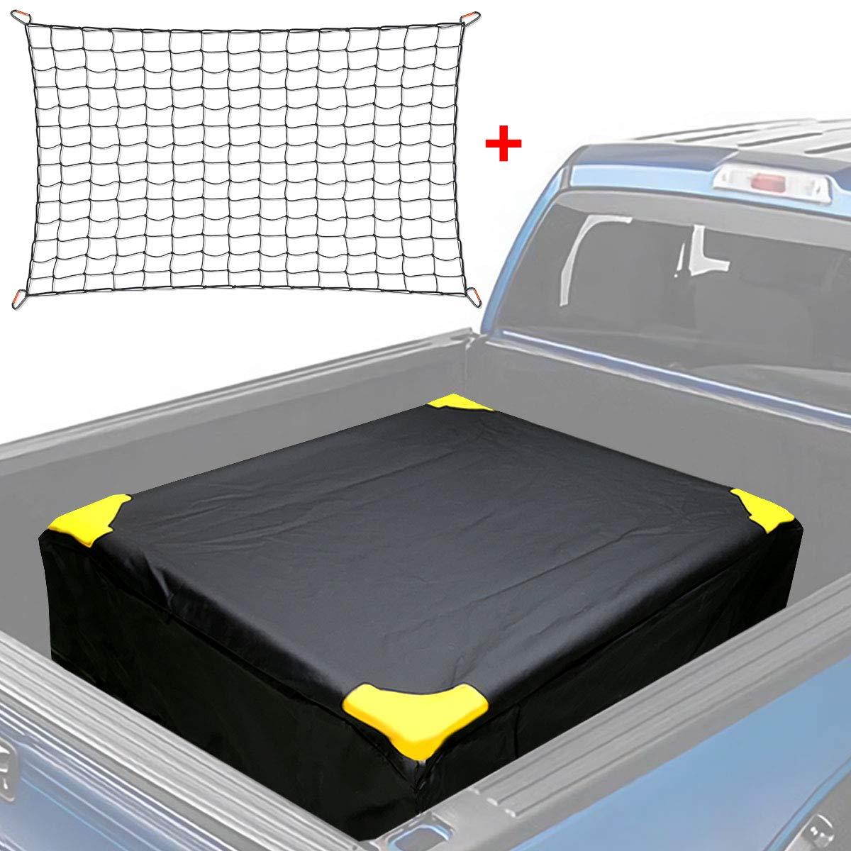 MODOKIT 100% Waterproof Truck Bed Cargo Bag with Cargo Net Hooks 26 Cubic Feet