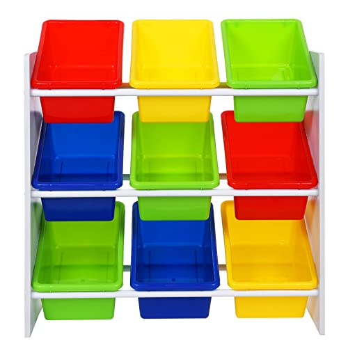 Songmics Storage Cubes Corner Shelf For Toys Shoes