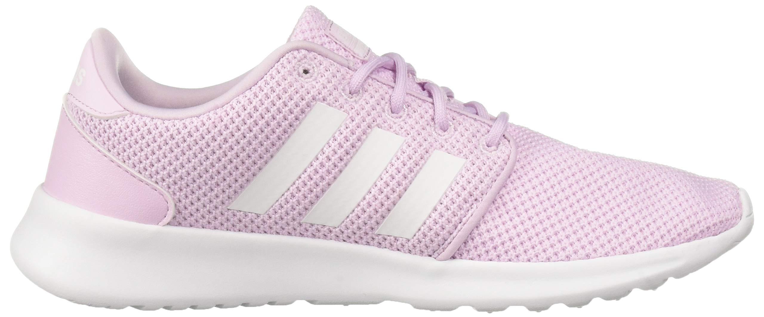 adidas Women's Cloudfoam QT Racer, White/aero Pink, 5.5 M US by adidas (Image #6)