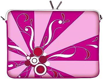 DIGITTRADE LS155-11 MagicRays diseño funda protectora estuche antihumedad de neopreno para portátil macbook 11.6 pulgadas (29.5 cm)