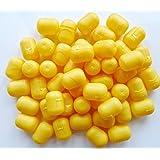 Kinder Überraschung, 50 Ü-Ei Kapseln am Steg in gelb (Ü-Eier Kapsel von Ferrero)