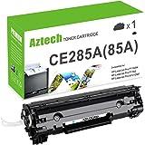 AZTECH 1 Pack 1,600 Pages Black Compatible Toner Cartridge Replaces HP 85A CE285A CE285 Used For HP LaserJet Pro P1102 P1102W P1100 M1212NF M1217NFW MF3010 M1210 M1132 Printer