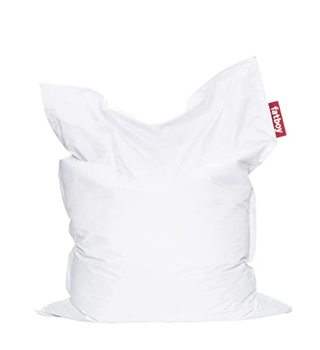Amazon.com: Fatboy The Original – Puf, color blanco: Kitchen ...