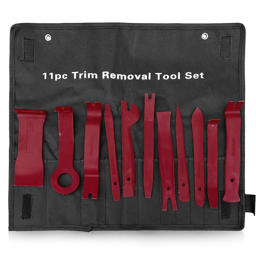 Trim Tools 11 Pcs Red Infreecs Car Door Panel Removal Tool for Removing Auto Panels Trim