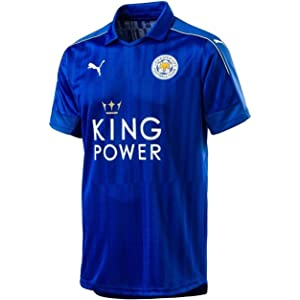 eacaad66b43 Amazon.com : PUMA Leicester City Away Jersey [Red] (S) : Sports ...