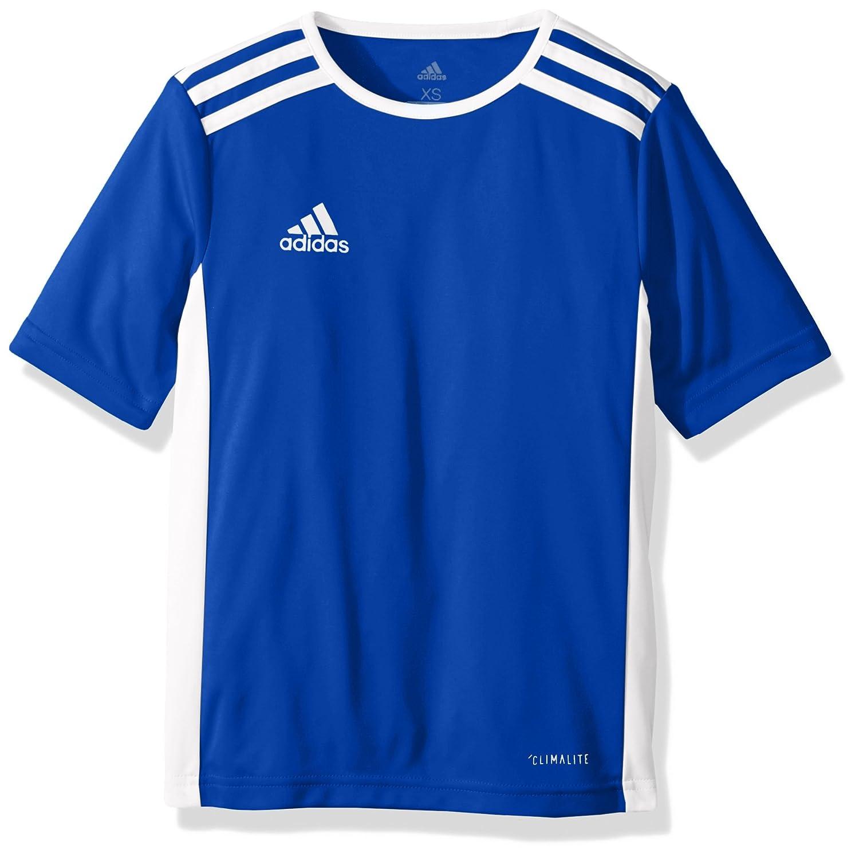 Adidas エントラーダジャージー 男子用 サッカー 18。 B0721VPB28 X-Small|Bold Blue/White Bold Blue/White X-Small