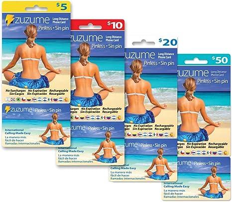 Amazon.com: Zuzume - tarjeta prepaga de teléfono para ...