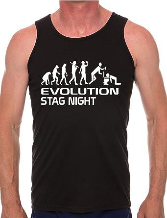 Evolution Of Motorbike Mens Vest Tank Gym Athletic Top Size S-XXL