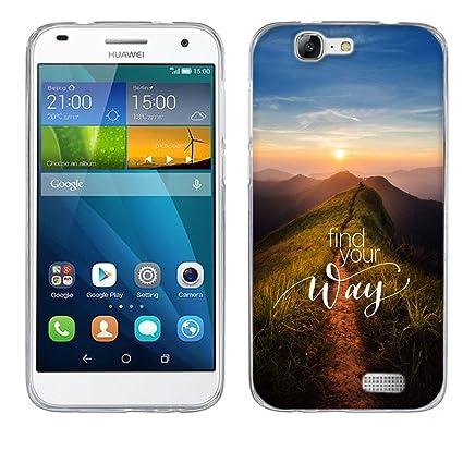 Amazon.com: Huawei G7 Funda, Huawei Ascend G7 Fundas ...