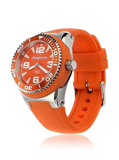 Neckmarine Reloj con movimiento Miyota NM98306 Naranja 39 mm