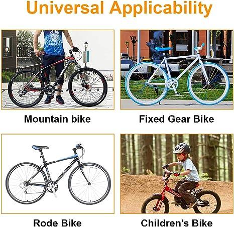 5Five Lenkergriffe f/ür Fahrrad BMX weiches Gummi Mountainbike Rennrad MTB